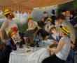 Luncheon of the Boating Party by Pierre-Auguste Renoir came in fifth on overstockArt.coms annual Mothers Day Top 5 Oil Paintings list.